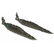 Stäbchenhalter aus Metall (klein)