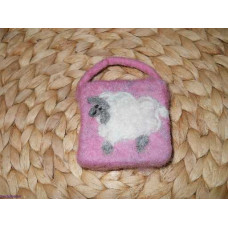 felted soap Scene Sheep